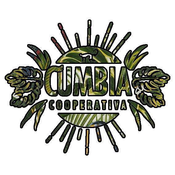 Logotipo tipo jungla de la Cumbia Coperativa